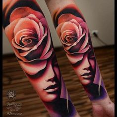color portrait tattoo - Recherche Google