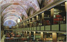Biblioteca Apostolica Vaticana  Sala de lectura. Ciudad del Vaticano