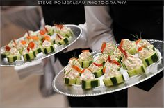 Butler Passed Appetizers www.stevepphotography.com