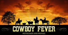 Cowboy Fever, Orphans, and a Giveaway!