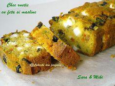 » Chec rustic cu feta si maslineCulorile din Farfurie Olives, Feta, Saveur, Baked Potato, Muffin, Potatoes, Rustic, Baking, Breakfast