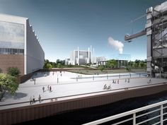 Gas and Steam Power Plant Winning Proposal / Henn