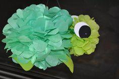 1 Under the Sea Turtle/Tissue Pom Turtle/Sea by PomPomsGalore Boy Baby Shower Themes, Baby Shower Parties, Baby Boy Shower, Baby Shower Decorations, Baby Showers, Turtle Birthday Parties, Turtle Party, Mermaid Birthday, Baby Birthday