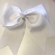 Hair Clip White Bow