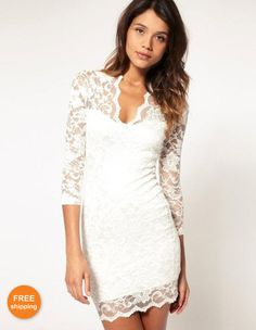 this dress but with short sleeves
