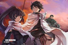 Spoilers Log Horizon Season 2 Episode 25 Anime Only Discussion Log Horizon Saison 2 Vostfr L. Log Horizon Akatsuki, Log Horizon Season 2, Best Picture Winners, Japanese Novels, Posters Amazon, Anime Akatsuki, Anime Episodes, Anime Nerd, Kaichou Wa Maid Sama