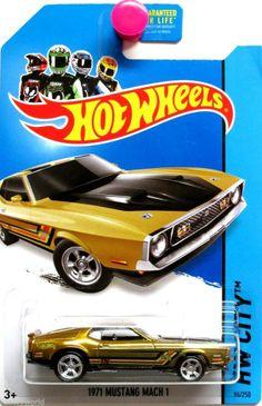 Hot Wheels 2014 HW City SUPER TREASURE HUNT 1971 Ford Mustang Mach 1 #94/250
