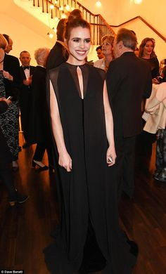 Style stakes: Billie has put her romance woes on the back-burner and has just finished a r... Freddie Fox, Laurence Fox, Billie Piper, Theatre, Romance, Husband, Gowns, Actors, Image