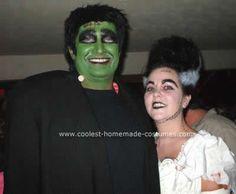 DIY Frankenstein & Bride of Frankenstein Costume