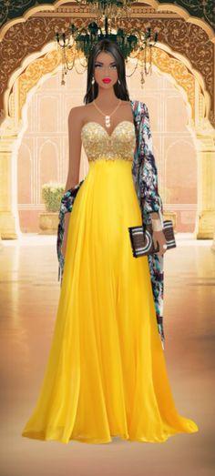 Covet Fashion Game-Challenge-Bollywood Stars Wedding