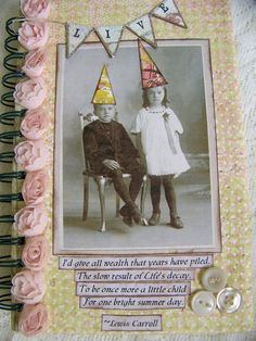 Handmade Book Altered  Journal Altered Blank Journal door QueenBe