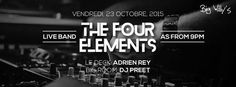 THE FOUR ELEMENTS LIVE - see more on http://ift.tt/1PDAPP2 #events #mauritius