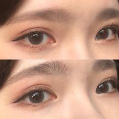 asian makeup – Hair and beauty tips, tricks and tutorials Makeup Korean Style, Korean Makeup Tips, Asian Eye Makeup, Korean Makeup Tutorials, Ulzzang Makeup Tutorial, Makeup Inspo, Makeup Inspiration, Beauty Makeup, Cute Makeup