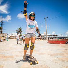 Aula de long - Guanabara Boards Aulas de skate longboard para adultos - longboard girls - longboard para meninas - aprender longboard - Oficina de skate