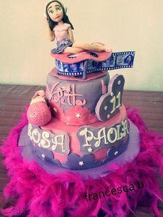 tortas violetta