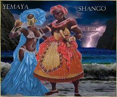 Shango & Yemaya