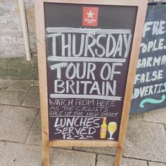 #TourOfBritain 🚴 will be cycling through #ChippingSodbury today...You can even watch it with a beer in your hand at The Horseshoe