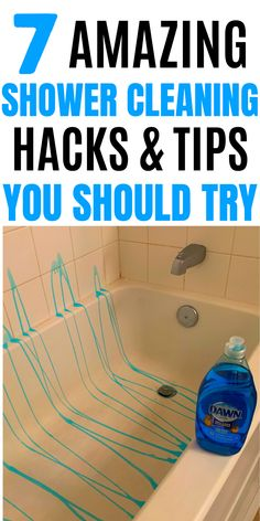 Diy Home Cleaning, Bathroom Cleaning Hacks, Homemade Cleaning Products, Household Cleaning Tips, Cleaning Recipes, House Cleaning Tips, Natural Cleaning Products, Deep Cleaning, Spring Cleaning