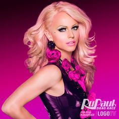 Peek-a-Ru! Meet Courtney Act and our other season 6 glamazons at logotv.com before #RuPaulsDragRace returns on Monday, FebRUary 24th!