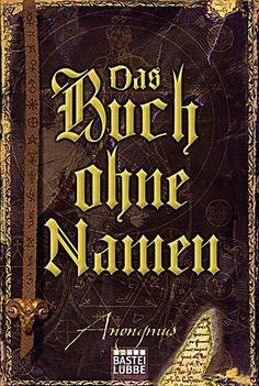 Anonymus Band 1: Das Buch ohne Namen, Anonymus