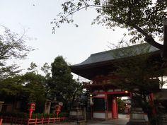 京都 八坂神社 西楼門(外)2015.06.24