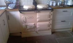 2-Oven-Fully-Reconditioned-Oil-Fired-Aga-Cooker Kitchen Mantle, Cozy Kitchen, Kitchen Witch, Electric Aga, Electric Range Cookers, English Cottage Kitchens, European Kitchens, Aga Cooker, Oven Cooker