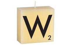 """""""W"""" Scrabble Letter"""