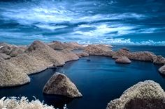 Landscape · Nature · Infra-Red · Island · Indonesia · Asia · Papua · Raja · Wayaj · Ampat · Travel · Tourist Information West Papua, Wish I Was There, Tourist Information, Before I Die, Scuba Diving, Bali, Around The Worlds, Island, Landscape