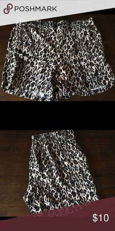 Torrid Leopard Dress shorts. Size 1X Size 1X Torrid leopard dress shorts. In great condition. Worn one time. Torrid Shorts