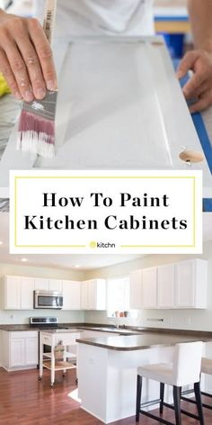 How To Paint Wood Kitchen Cabinets with White Paint & Kitchn & DIY-kitchen-cabinet-ideas Source by The post How To Paint Your Kitchen Cabinets So It Looks Like You Totally Replaced Them appeared first on Maciej Man Caves. Painting Kitchen Cabinets White, Wooden Kitchen Cabinets, Plywood Cabinets, Refacing Kitchen Cabinets, Diy Cabinets, Kitchen Paint, Painting Cabinets, New Kitchen, Painting On Wood