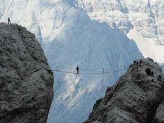 Via ferrata dans le Guillestrois - Hautes Alpes