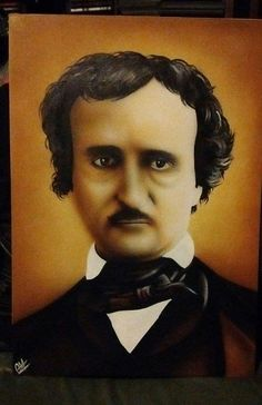 Edgar Alan Poe by Carlos Aperribay #artist #painting #art