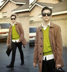 Odd colors, Odd individuals (giveaway)  (by Adam Gallagher) http://lookbook.nu/look/3220471-Odd-colors-Odd-individuals-giveaway