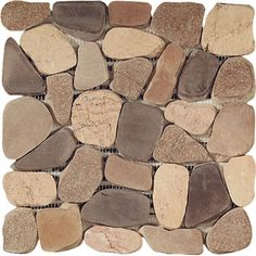 river rock tile sheets river rocks insert 12 x 12 tennessee insert style tile