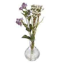 Buy Peony Artificial Astrantia and Wax Flower Bottle, Purple from our Novelty & Gadget Gifts range at John Lewis & Partners. Beautiful Gardens, Vase, Artificial Plants And Flowers, Decorative Accessories, Wax Flowers, Artificial, Artificial Flowers And Plants, Vintage Bottle, Buy Peonies