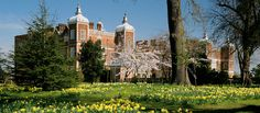 Hatfield House in Hertfordshire - Childhood home of Queen Elizabeth I