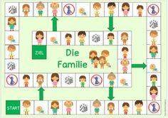 Ideenreise: Spielfelder für DAZ Body Preschool, Preschool At Home, Preschool Activities, Learn German, Learn English, Germany For Kids, English For Beginners, Teaching Social Skills, English Games
