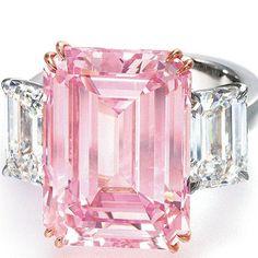 pink diamond wedding rings - Bing Images