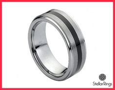 Tungsten carbide is one of the hardest metal.Tungsten ring will retain its shape forever and it will never loose its shine.Tungsten ring will never