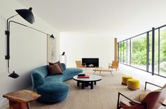 This residence – both the architecture and interiors – was created by the Brussels, Belgium-based Daskal-Laperre