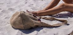 Throw Me in the Sand Beach Bag