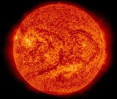 This image of the Sun was taken by NASA Solar Dynamics Observations mission on 15 July 2015, at a wavelength of 304 Angstroms. Image credit: NASA Solar Dynamics Observations.