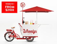 Wheelys. A café in a bike. Deal with it. | Indiegogo