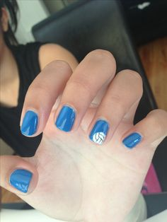 Amber's volleyball nails