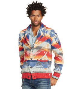 Southwestern Shawl Cardigan - Denim & Supply  Cardigan & Full-Zip - RalphLauren.com