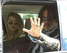 Johnny Depp et Amber Heard.