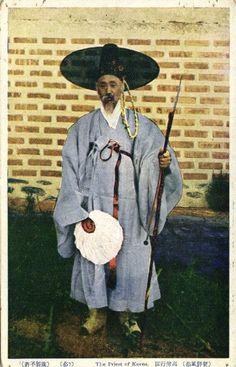 korean Priest (1910s)