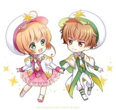 Syaoran, Cardcaptor Sakura, Clear Card, Cute Chibi, Cards, Image, Stickers, Anime Characters, Maps