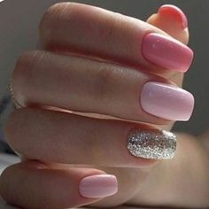 Nails sculpted in Polygel, semi-permanent enamelling, cleaning (Russian manicure. Manicure At Home, Gel Manicure, Hot Nails, Pink Nails, Coffin Nails, Acrylic Nails, Semi Permanente, Nagel Gel, Nail Shop