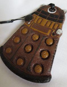 Doctor Who Dalek Handpainted Salt Dough